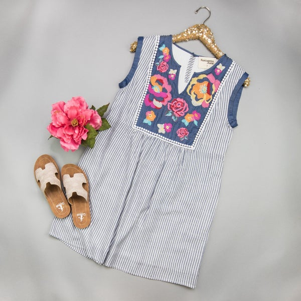 Best of the Best Embroidery Dress