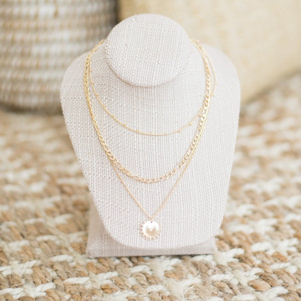 Triple the Fun Layered Necklace