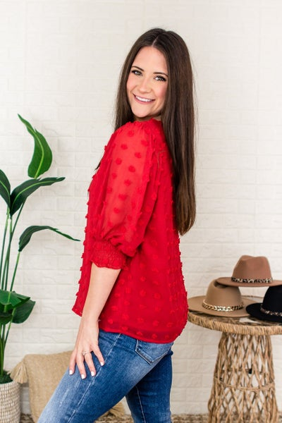 Dotted To Perfection Blouse