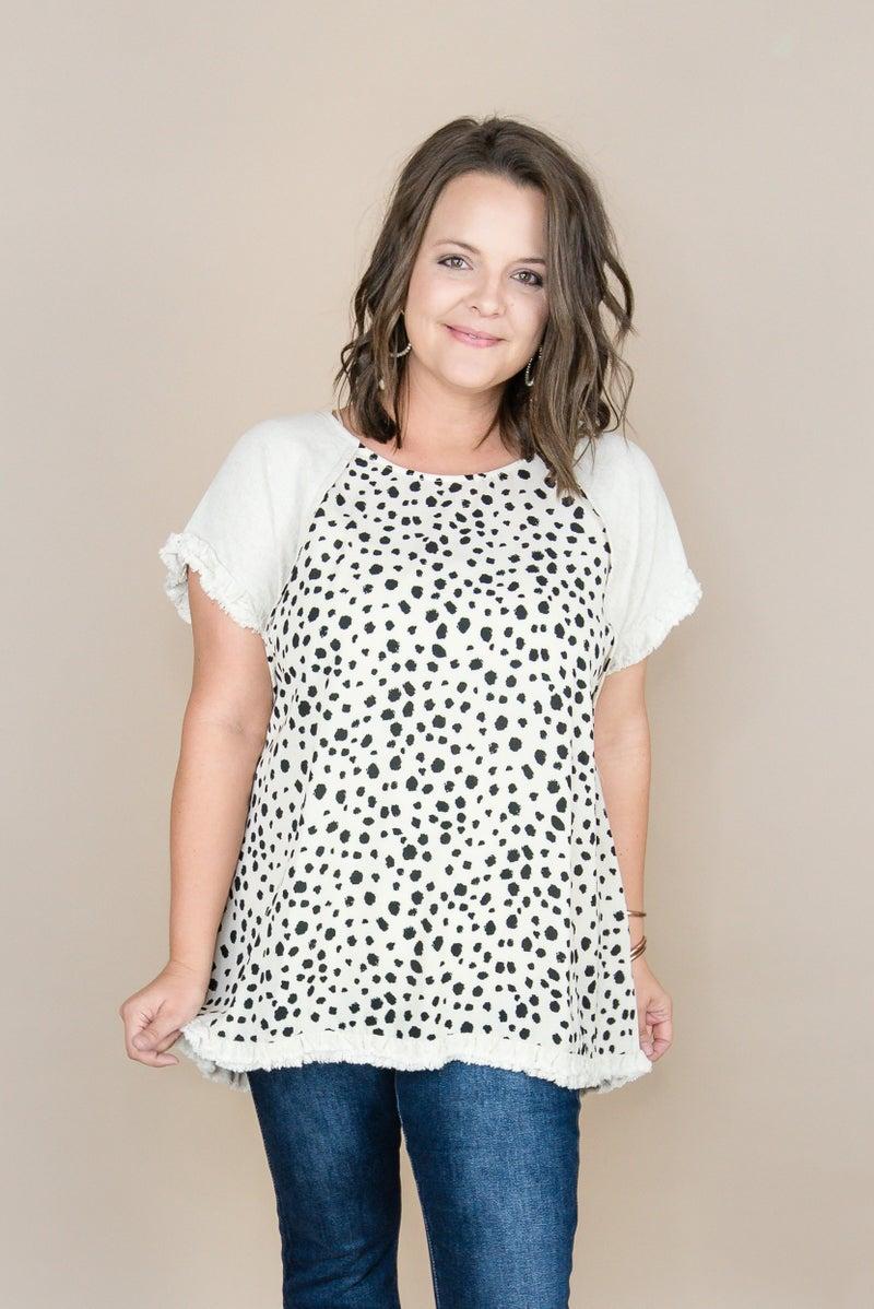 Spotty Dot Pop Blouse
