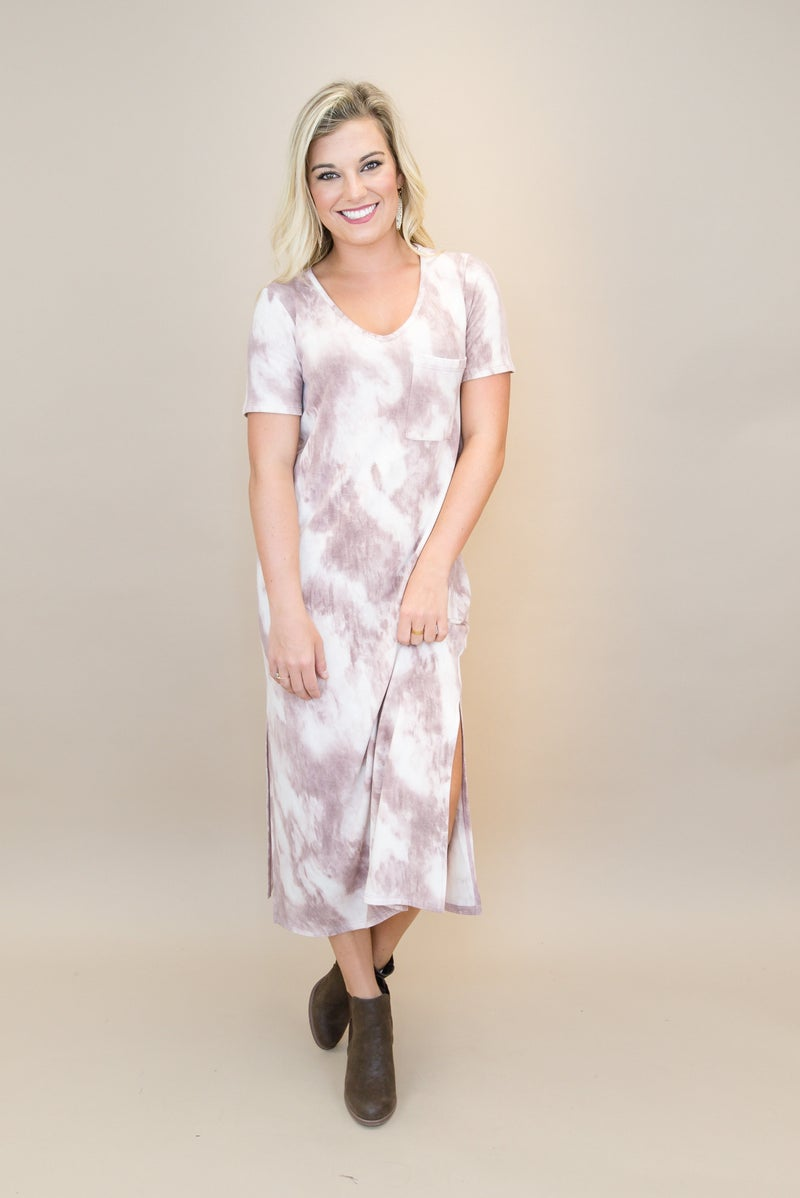 Dye Trend Midi Dress
