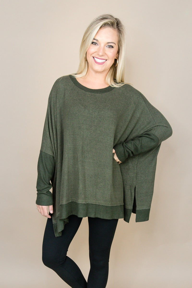 Olive Obsessed Top