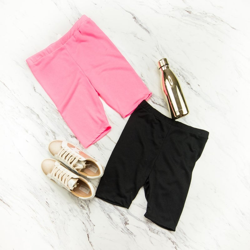Skinny Biker Shorts