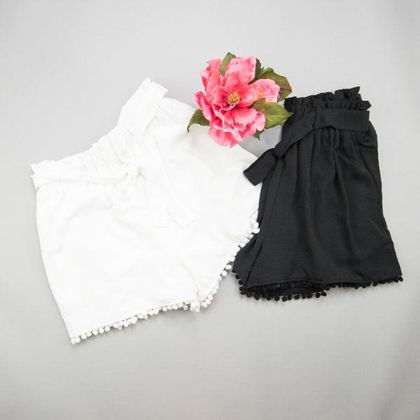 Pom Pom Detailed Shorts