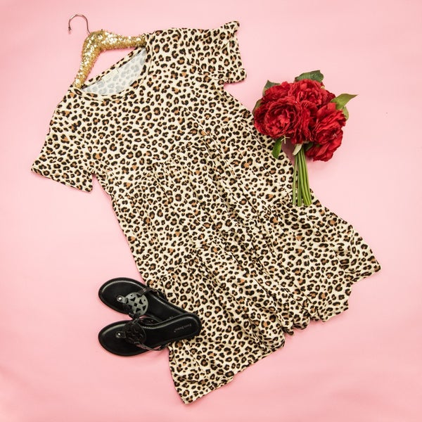 Fall For Leopard Dress