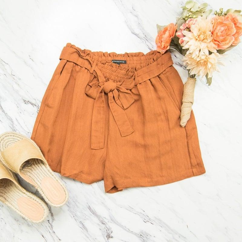 Amber Linen Shorts(REPOST)