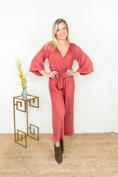 Red Wine Jumpsuit(REPOST)