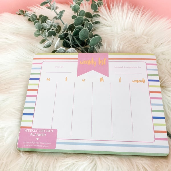 Weekly Planner By Taylor Elliot Designs