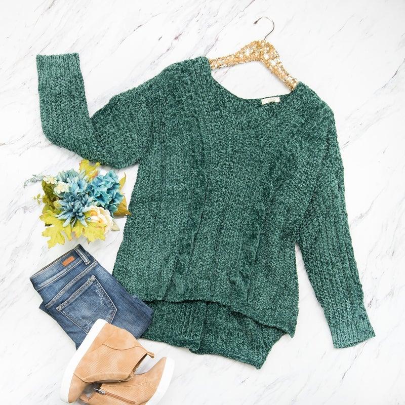 Chenille Hunter Sweater *ALL SALES FINAL*