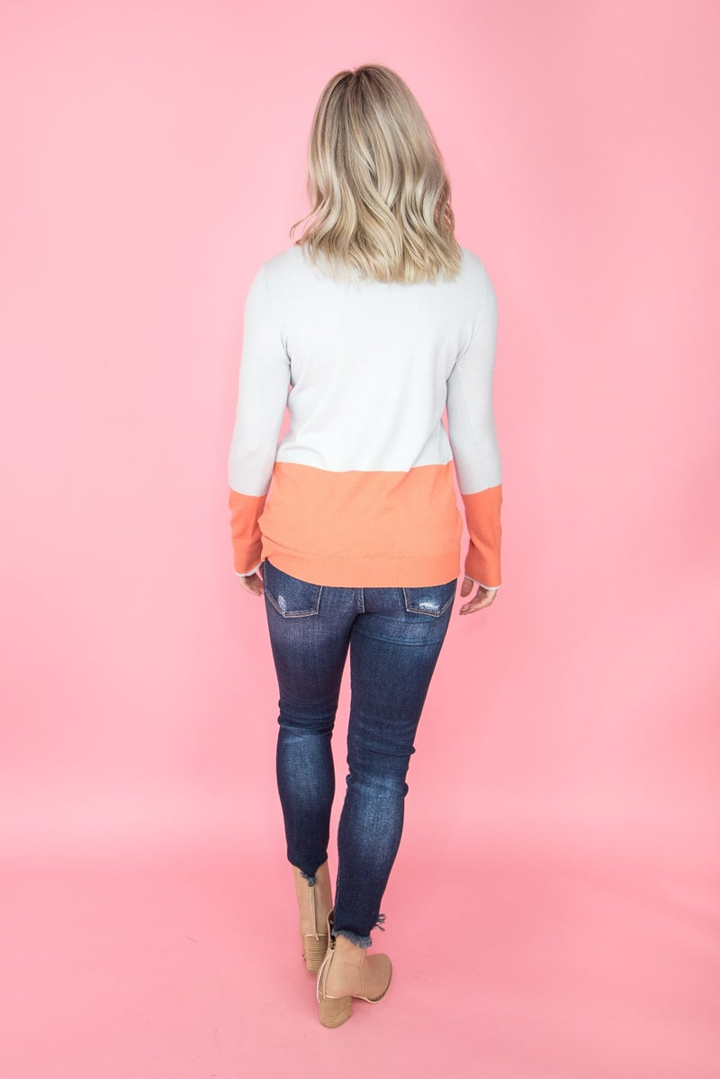 Color Drop Sweater