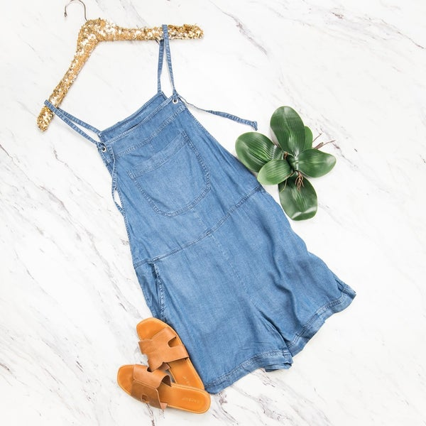 Staccato Denim Overalls