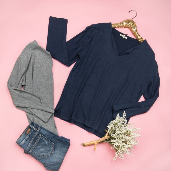 Cute and Cozy Tee *all sales final*