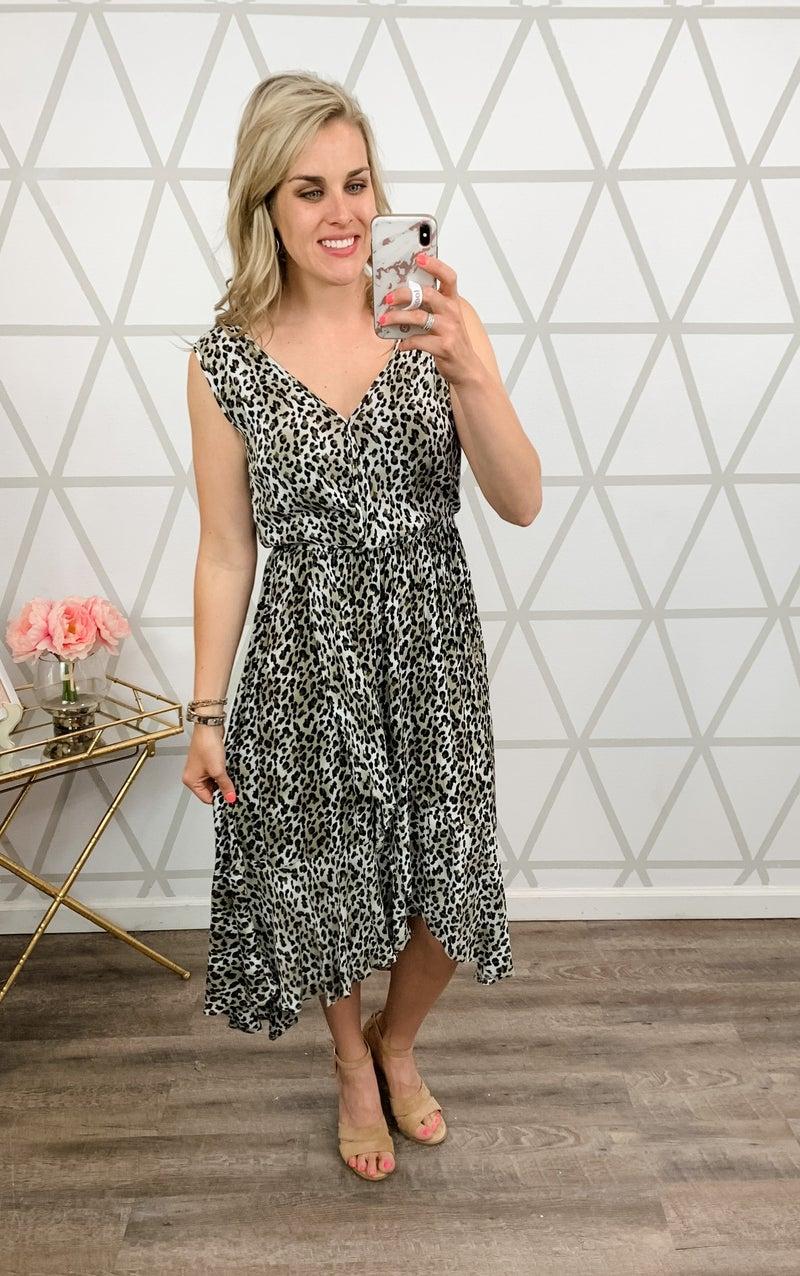 Kori Leopard Sass Dress *all sales final*