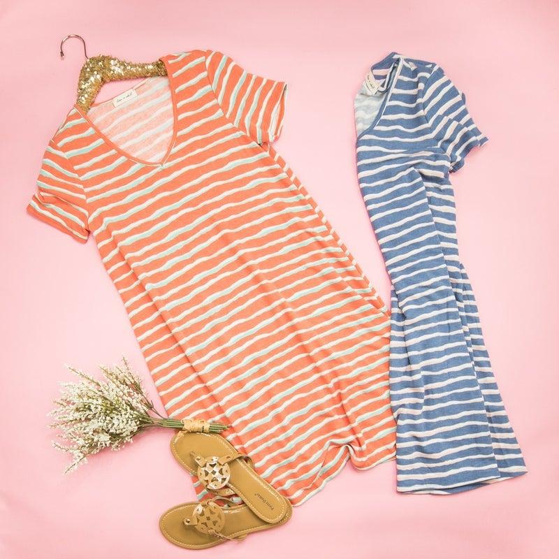 Summer Waves Dress