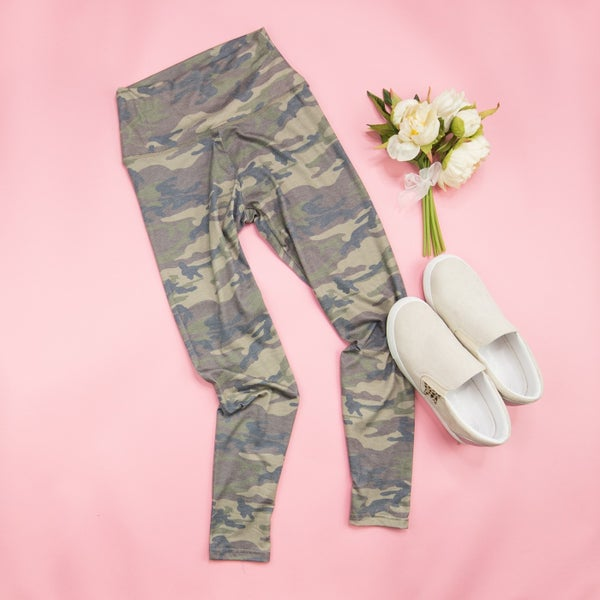 Casual Camo Leggings