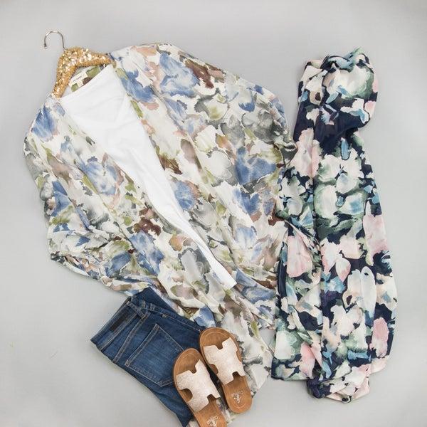 Spring Floral Kimono