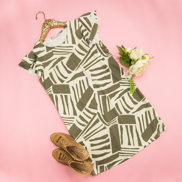 Fall Abstract Dress
