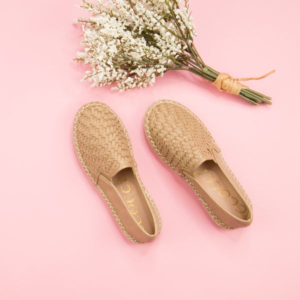Camel Colored Espadrilles