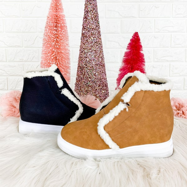 CYBER MONDAY // Wedge With The Furr Shoes *all sales final*
