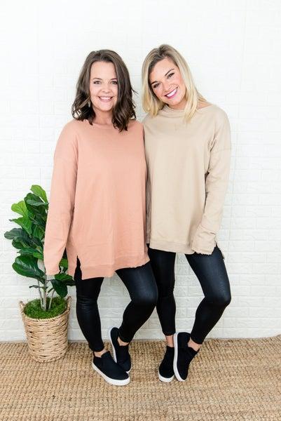 Oversized Basic Sweatshirt
