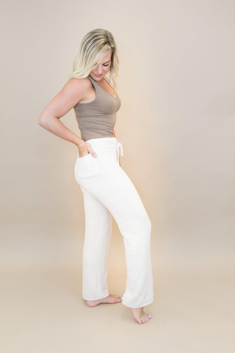 Designer Dupe Cream Lounge Pants