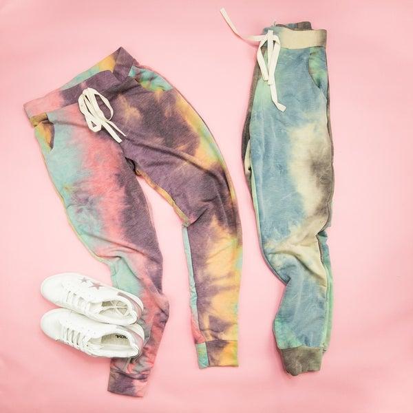 Tie Dye Joggers  *all sales final*
