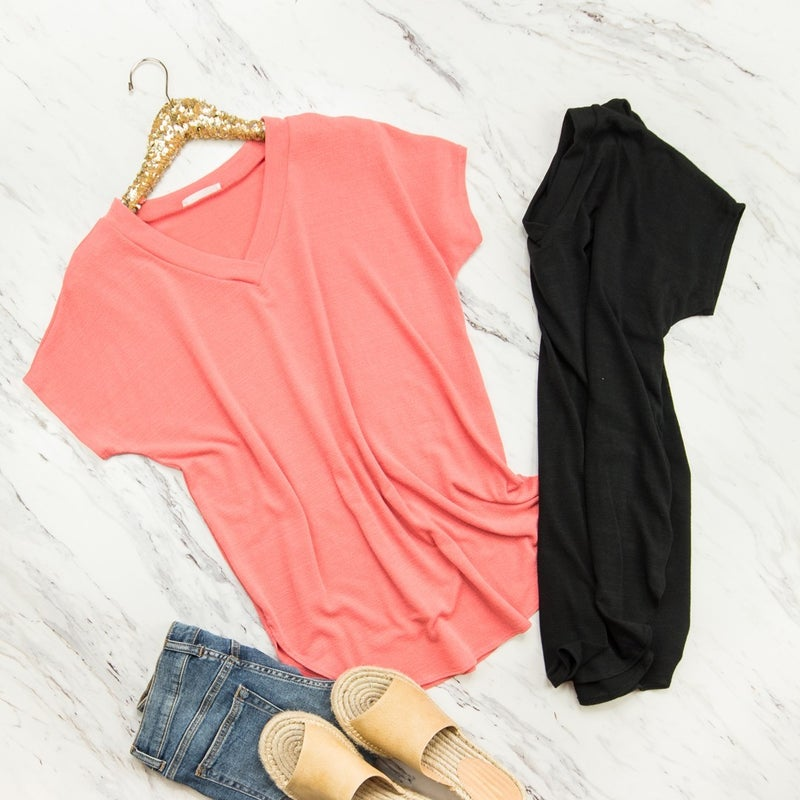 Easy & Simple Top *all sales final*