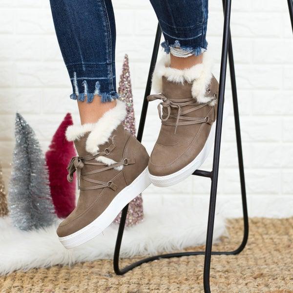 Sassy Wedge Sneaker