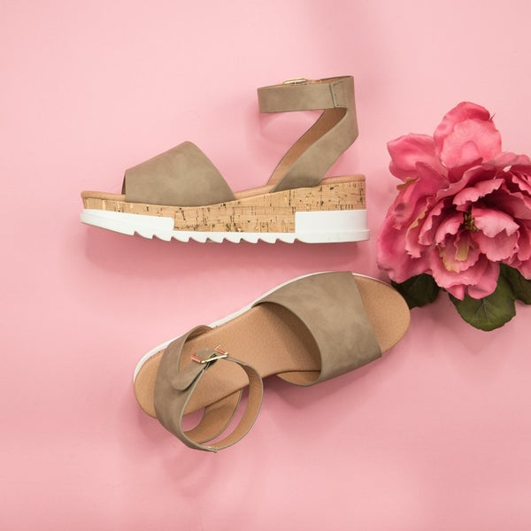 Neutral Trend Wedges *all sales final*