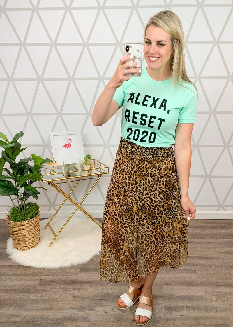 Alexa Reset 2020 Tee *all sales final*