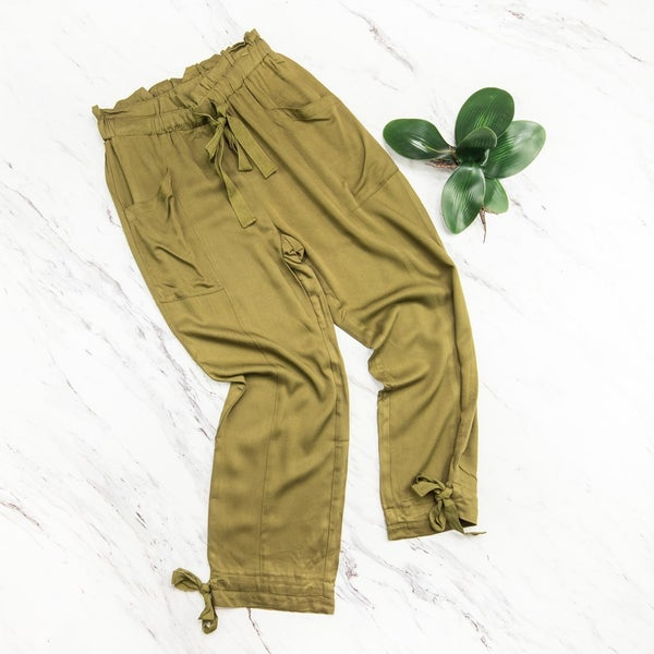 Cute & Simple Olive Pants *all sales final*