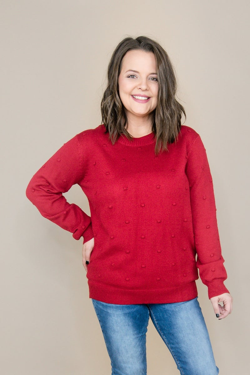 Red Dot Sweater