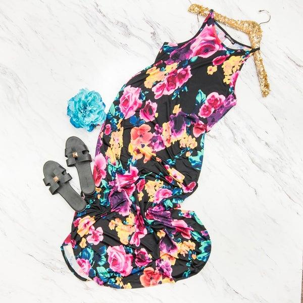 Floral Pop Maxi *all sales final*