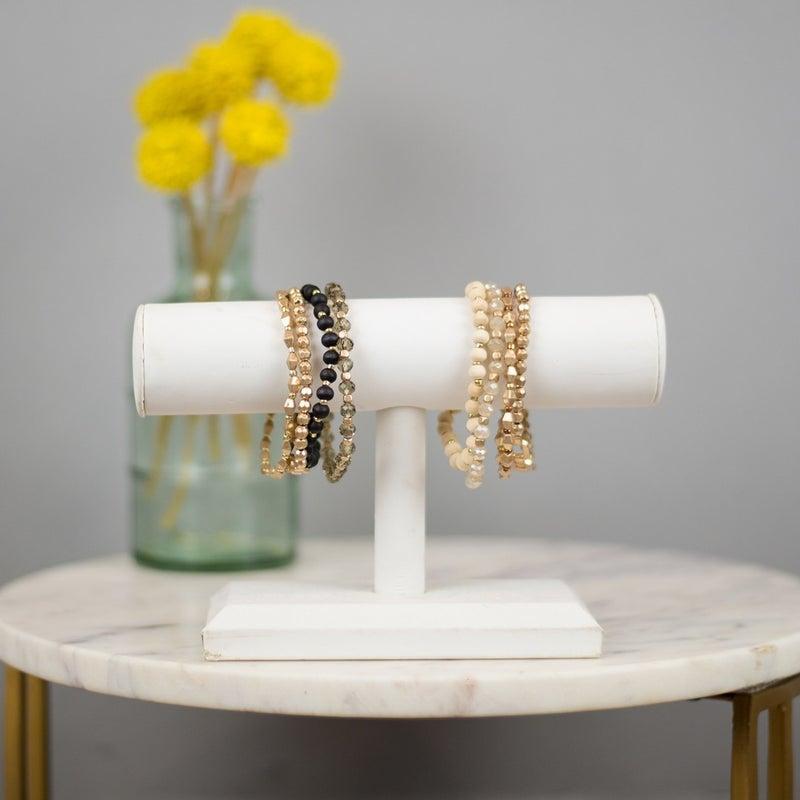 Boho Gold Bracelet Set