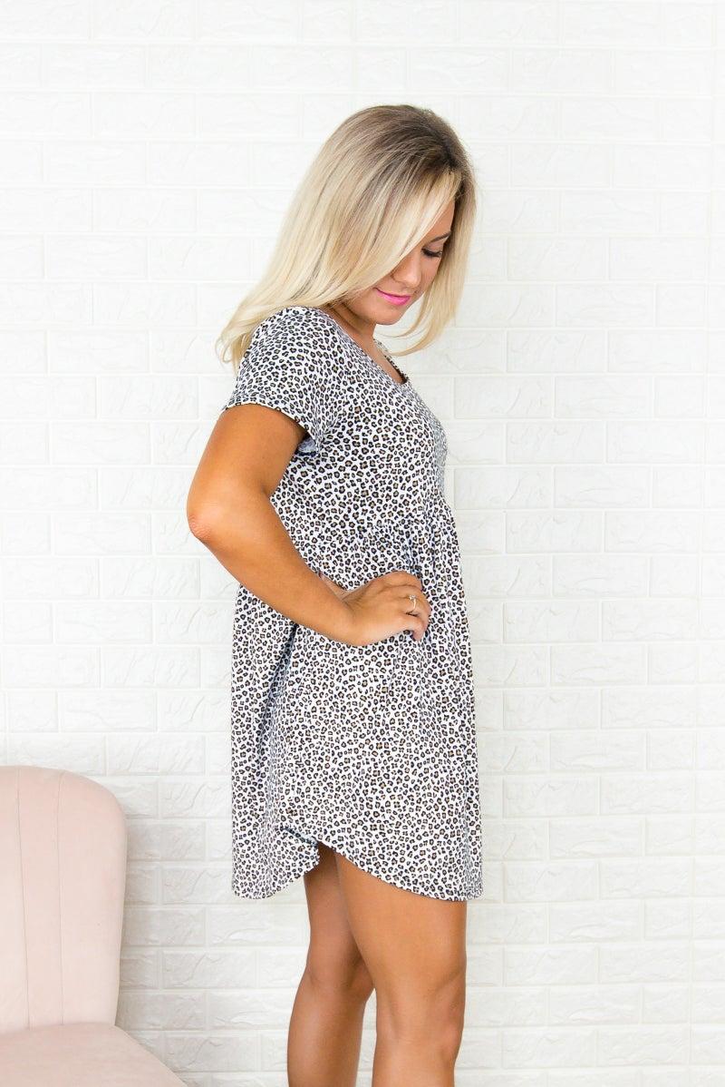 Leopard Butter Soft Tunic