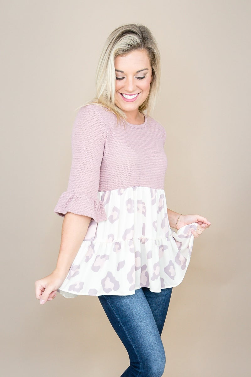 Simple 'N Sass Lilac Top