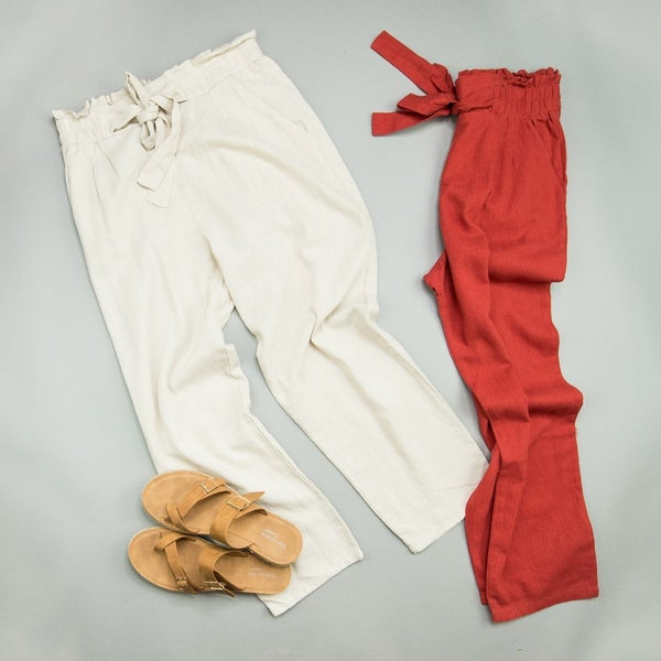 Easy Going Bow Pants *all sales final*