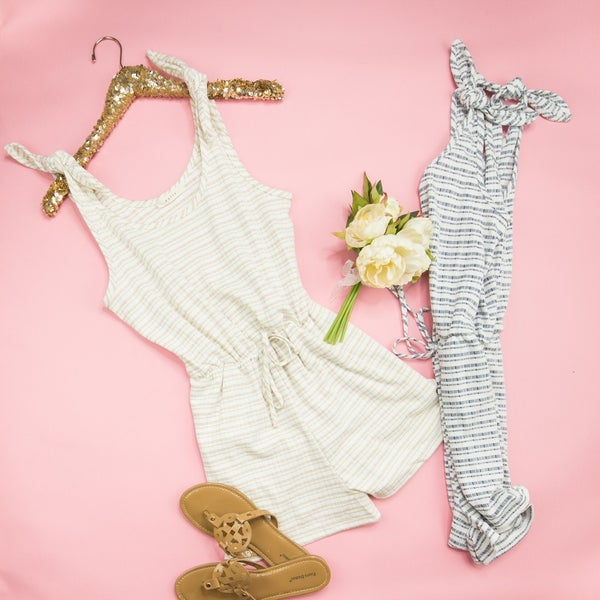 Bow Tie Romper *all sales final*