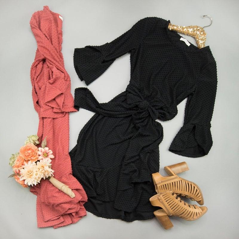 Sassy Swiss Dot Dress // ALL SALES FINAL