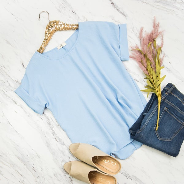 On The Clouds Blouse