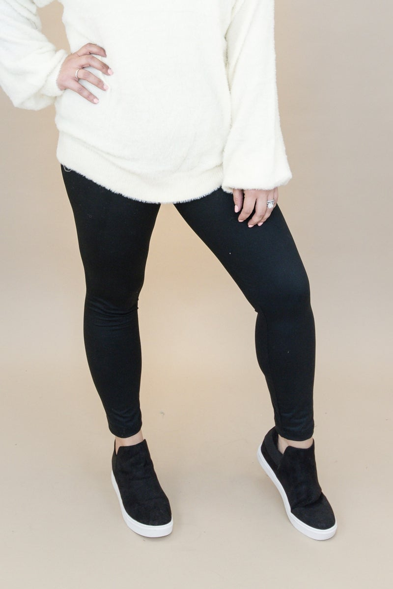 High Rise Black Leggings