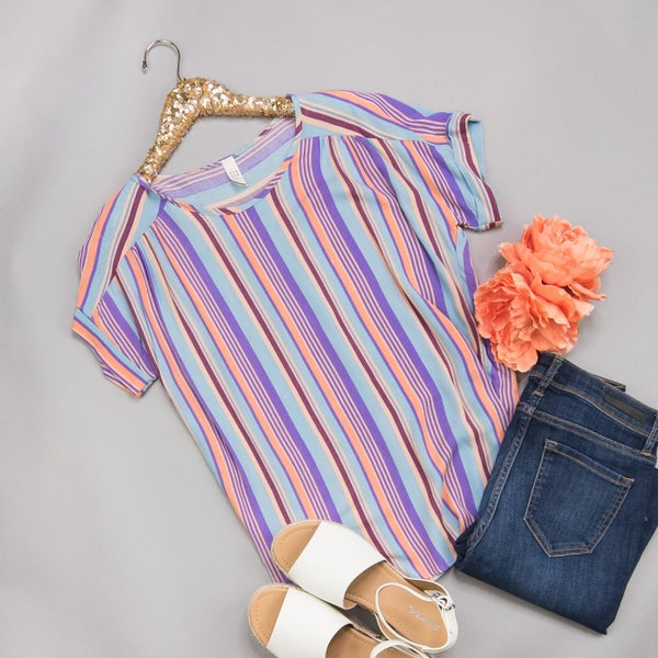 Colors&Stripes Top *all sales final*