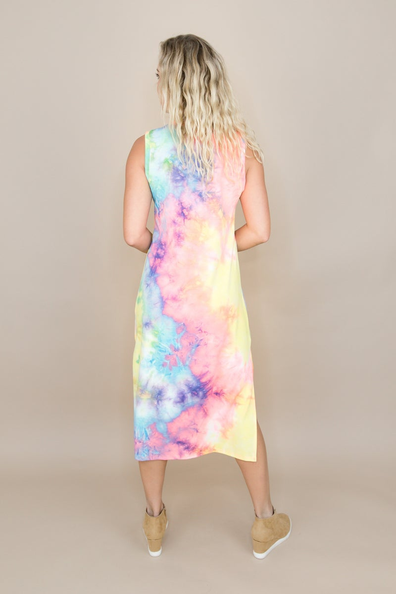 Brightest Dye Midi Dress *all sales final*(repost)