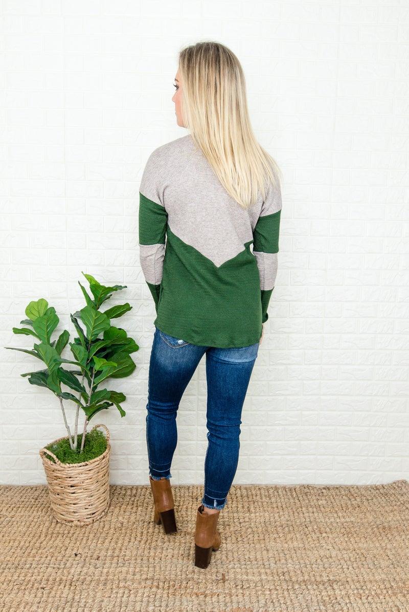 Green Geometric Top