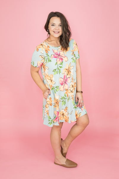 Touch of Lily Mint Dress