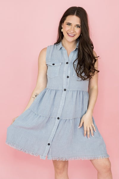 Simple and Free Summer Dress