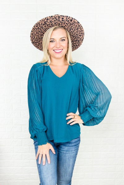Entro Rich Green Blouse