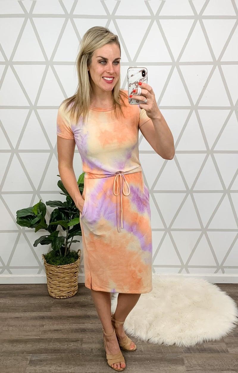Bright Days Midi Dress