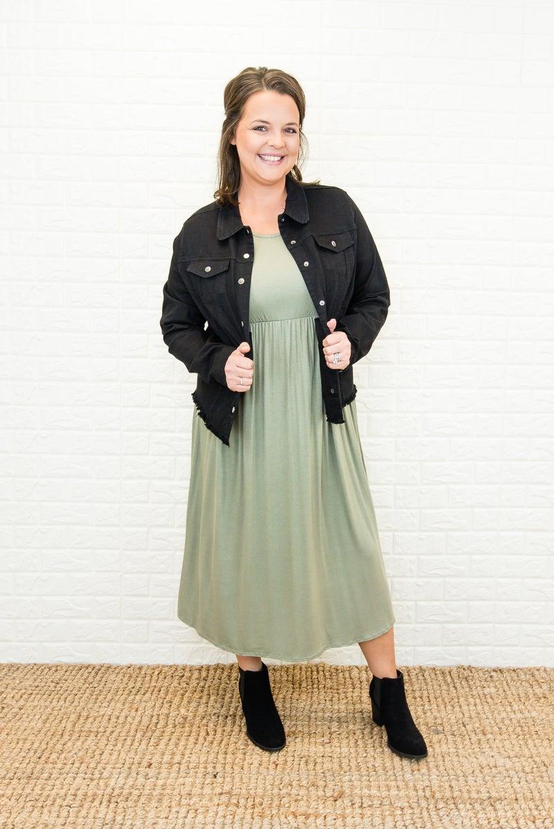 Keeping It Cute Midi Dress *all sales final*