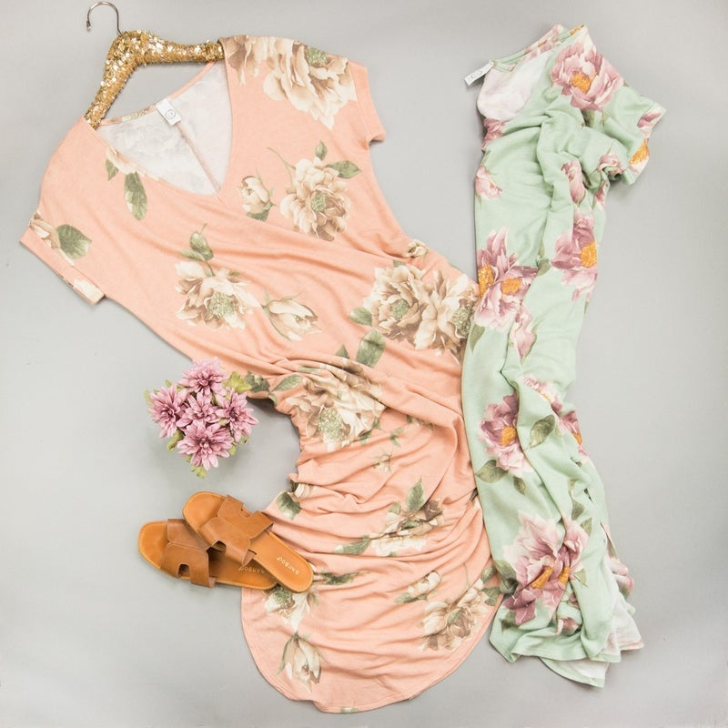 Spring Floral Maxi *all sales final*